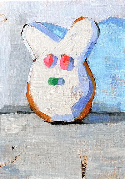 Donut Bar San Diego Easter Bunny Donut Painting