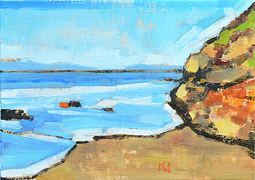Carpinteria Beach Painting