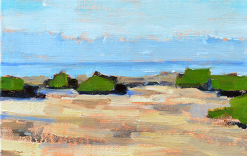 Crystal Cove Laguna Beach Painting