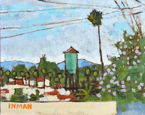 North Park Water Tower Painting San Diego