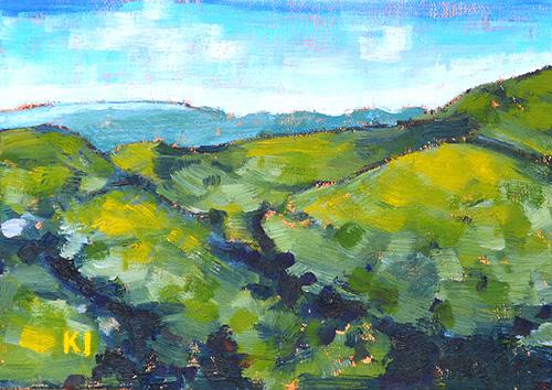 Santa Ynez Landscape California Mountains