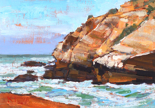 Point Loma Landscape Painting San Diego