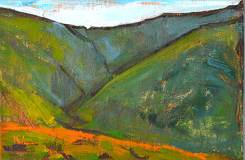 Santa Ynez Valley Landscape Painting