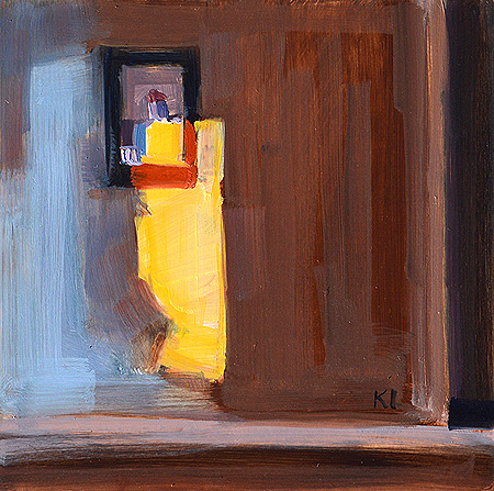 Light In the Bedroom, Interior Painting
