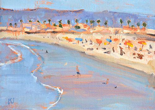 Ocean Beach OB Painting San Diego Plein Air