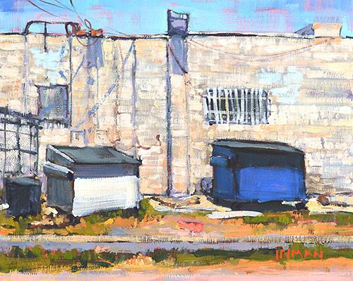 California Dumpster Painting