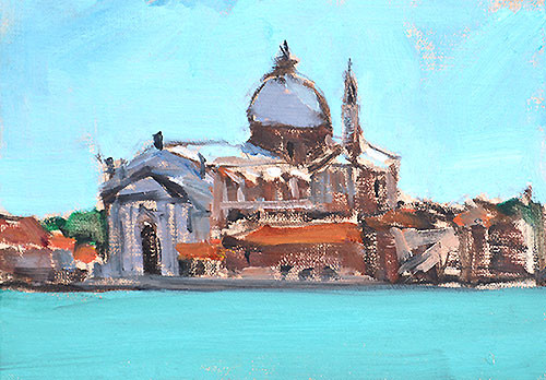Il Redentore Venice Italy Painting