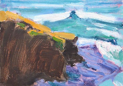 Ocean Beach Painting San Diego Kevin Inman