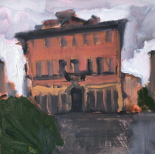Trastevere Rome Italy Painting