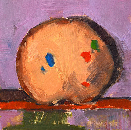 Cookie Painting Still Life Kevin Inman