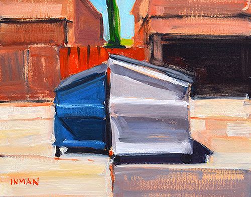 Dumpster Painting Kevin Inman North Park San Diego