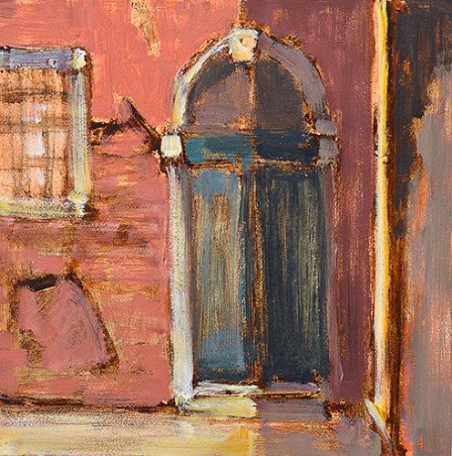 Doorway Venice Italy Painting Venezia