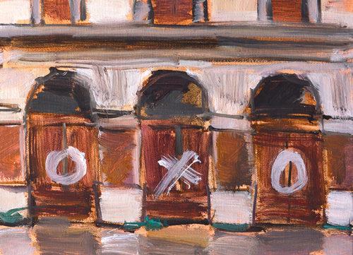 Venice Italy Graffiti Painting