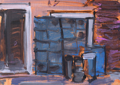 Kegs in Venice Italy Painting by Kevin Inman