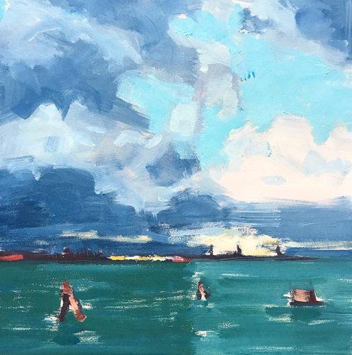 Venice Italy Seascape Painting