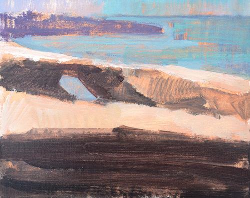 Ocean Beach San Diego Landscape Painting