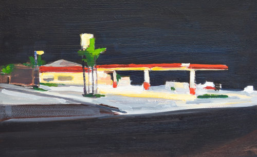 North Park Gas Station by Kevin Inman