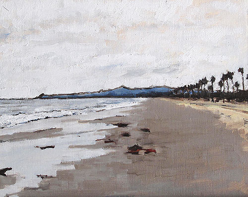 Santa Barbara Beach Landscape Painting