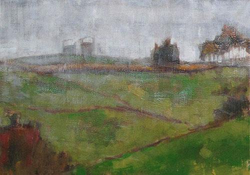 Virginia Landscape in the Rain