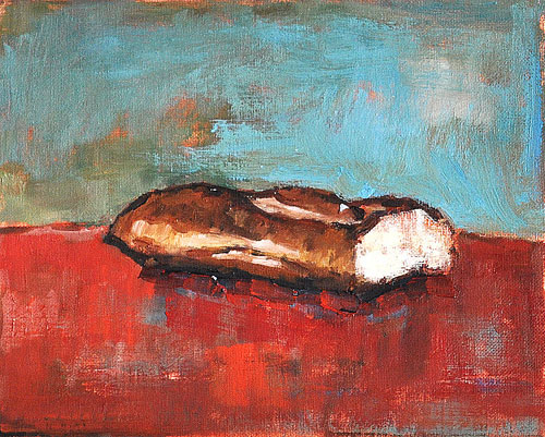 Baguette Painting- French Bread Painting