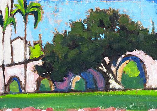 Balboa Park Plein Air Painting
