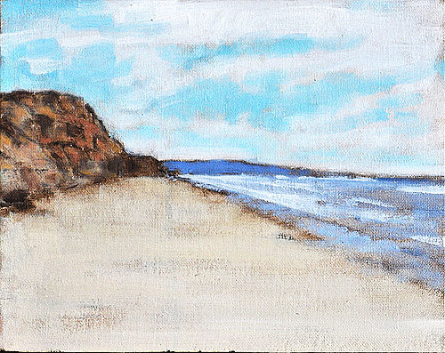 Blacks Beach Painting San Diego