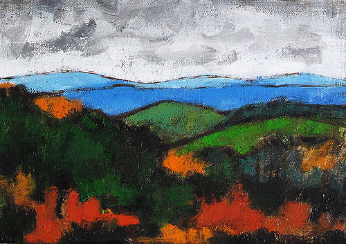 Blue Ridge Mountains Painting, Virginia