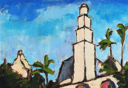 San Diego Painting, California Tower