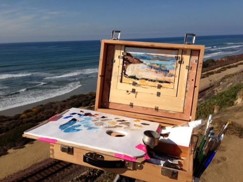 Del Mar Plein Air Painting