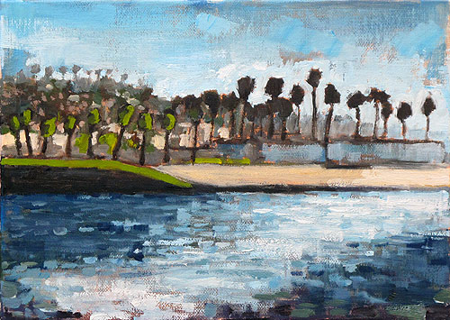 Ocean Beach Painting, San Diego California