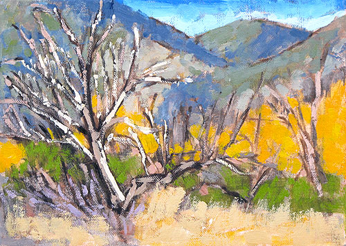 Mission Trails San Diego Landscape Painting