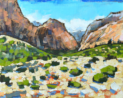Red Rocks Painting Las Vegas