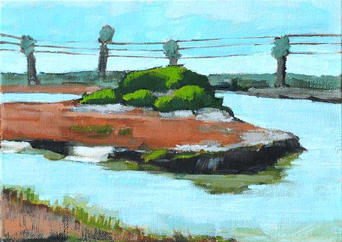 San Elijo Lagoon Painting