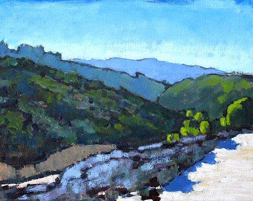 La Jolla California Landscape Painting