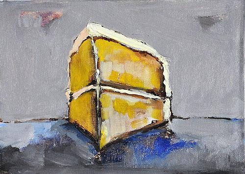 Yellow Cake Painting
