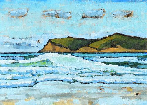 Coronado Island Painting