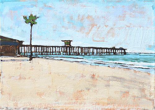 San Clemente Beach Painting