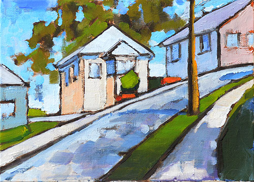 Mission Hills Painting San Diego Art