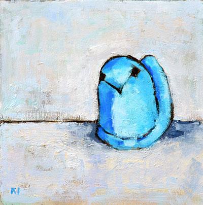 Marshmallow Peep Painting
