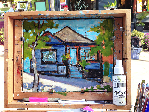 Little Italy San Diego Plein Air