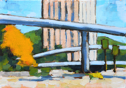 San Diego Freeway Overpass Painting
