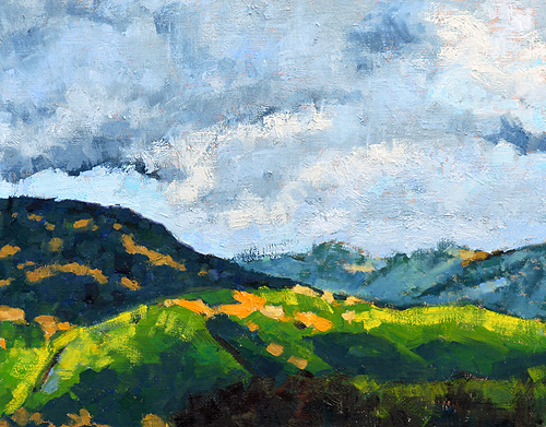 Santa Ynez Valley Painting, Santa Barbara County