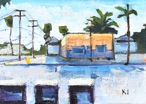 University Heights San Diego Painting