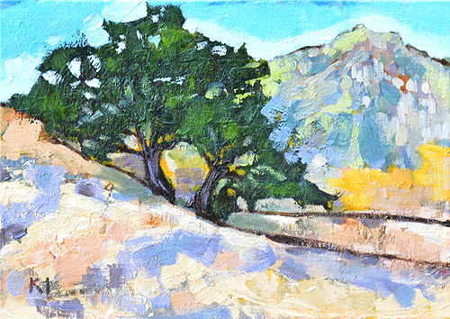 Mission Trails Painting Plein Air