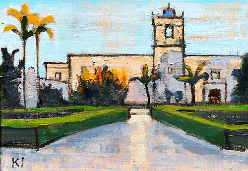 Mingei Museum, Balboa Park, San Diego Painting