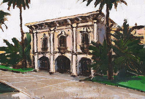 Balboa Park Painting Building