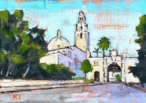 Balboa Park Painting San Diego