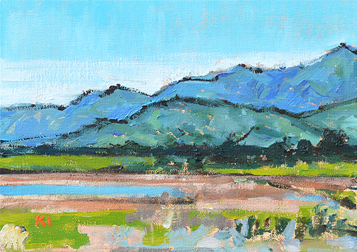 Carpinteria California Landscape Painting Santa Barbara