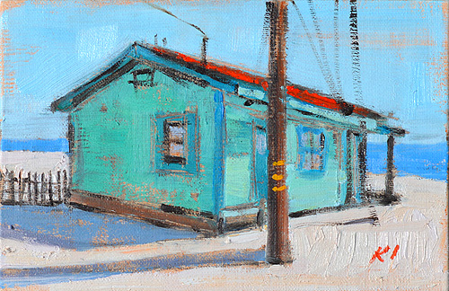 Crystal Cove Beach Cottage Painting