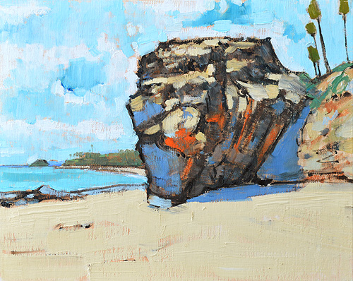 Laguna Beach Painting Oil